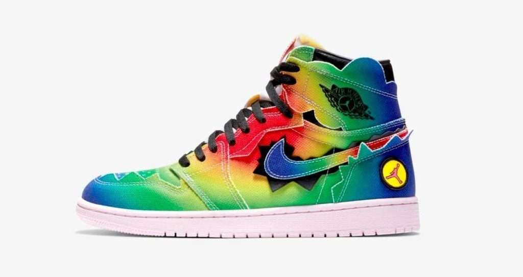 Nike-Air-Jordan-1-J-Balvin-Multi-Colour-Exclusive-Sneaker-Raffle-List